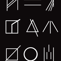 This was a first draft of symbols for the game project. Working with basic shapes helped with composition and layout.